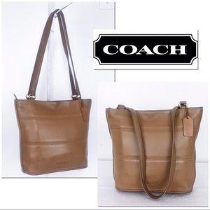Coach Vintage Leather Tribeca Bucket Shoulder Bag